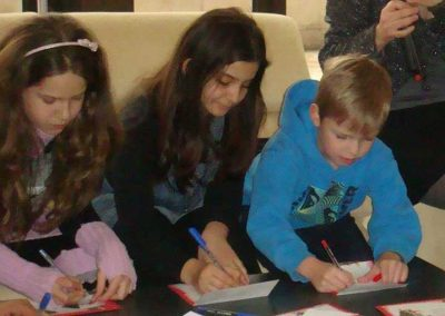 children-are-writing