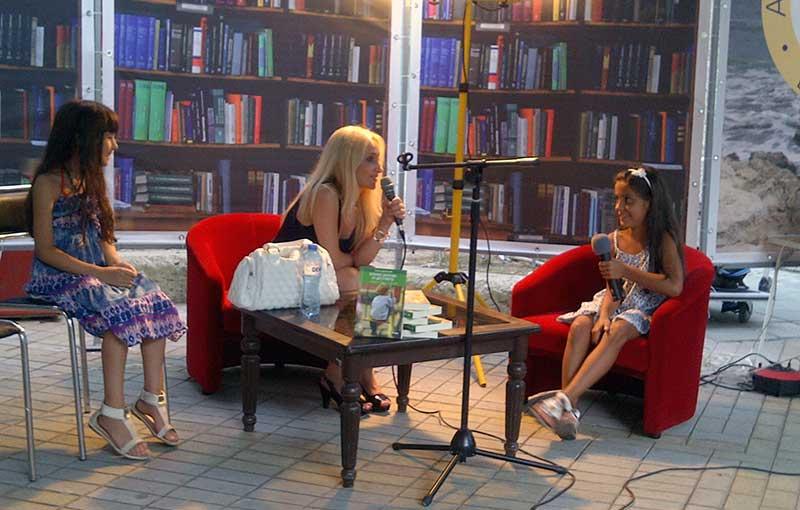 Stella interviewed girl